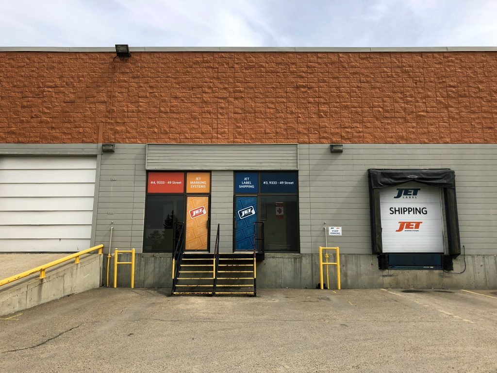 Jet Label Edmonton